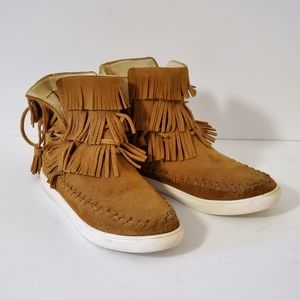 Ladies Mocassin Booties